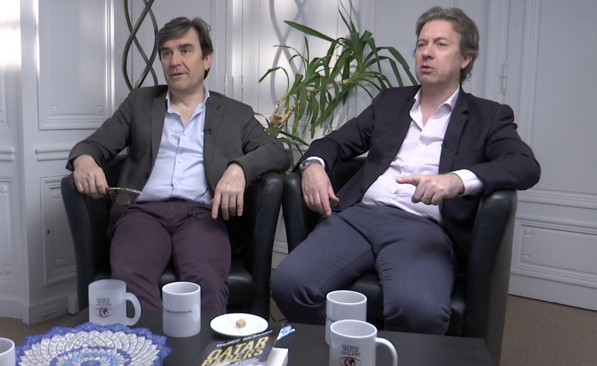 Interview avec Christian Chesnot et Georges Malbrunot, auteurs du livre Qatar Papers
