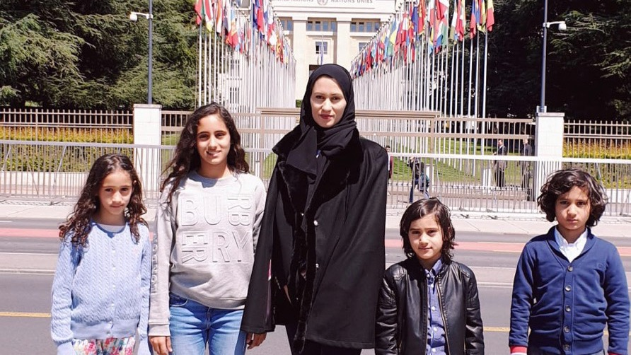 The wife of the Qatari Emir's cousin, sentenced to 25 years in prison, denounces the regime